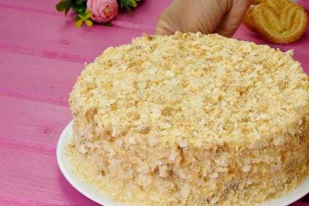 Торт ''Наполеон'' из печенья