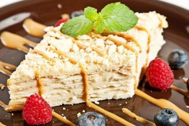 Торт ''Наполеон'' без випічки