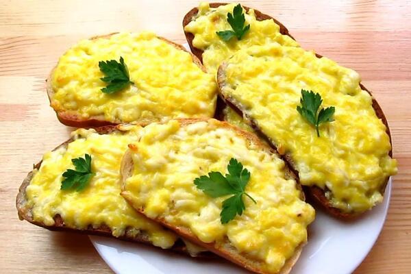 Бутерброди із сиром