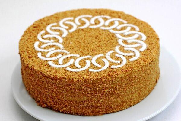 Торт ''Медовик'' с заварным кремом