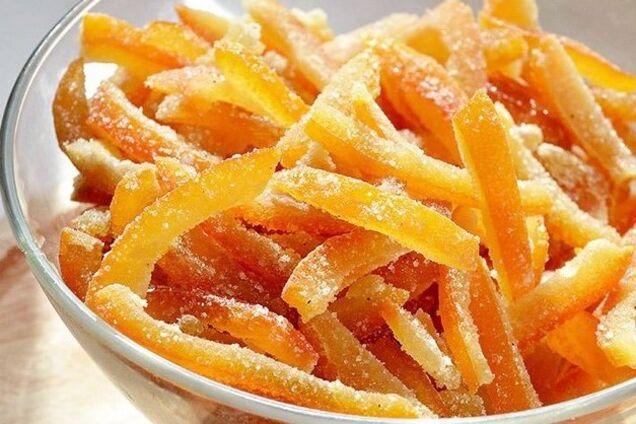 Цукати з апельсинових кірок