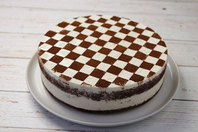 Торт ''Шахматная доска''