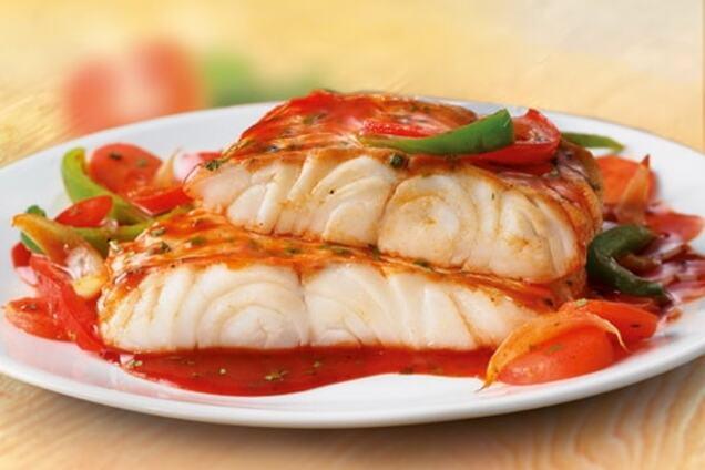 Заливна риба в томаті