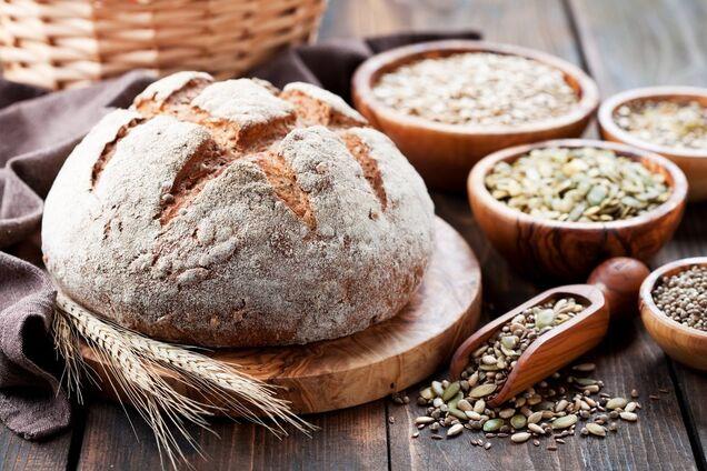 Цільнозерновий хліб на дріжджах