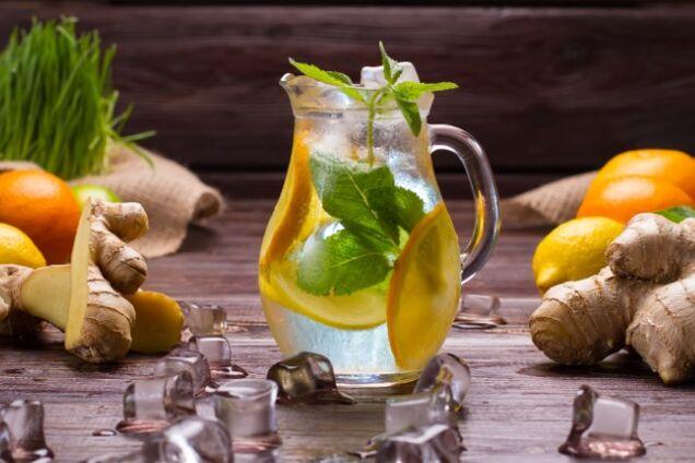 Імбирний лимонад