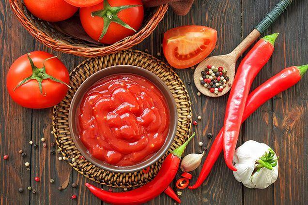 Кетчуп з помідор