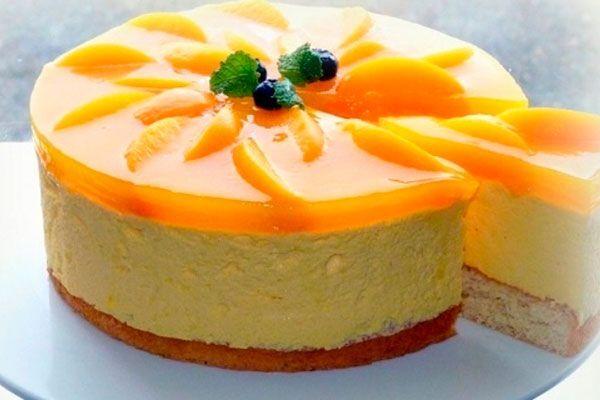 Торт-суфле з сиром