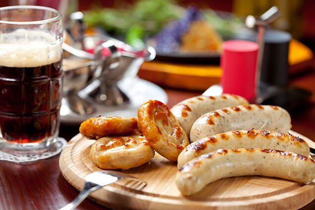 Мюнхенські ковбаски