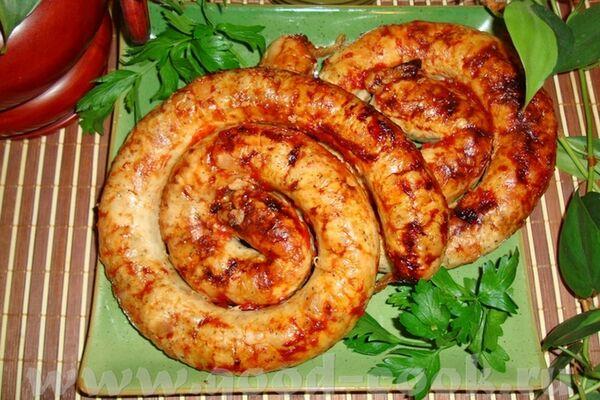 Домашня ковбаса зі свинини