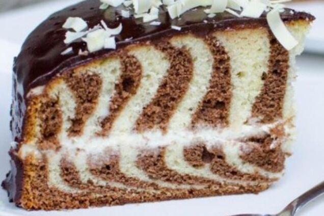 Торт ''Зебра''