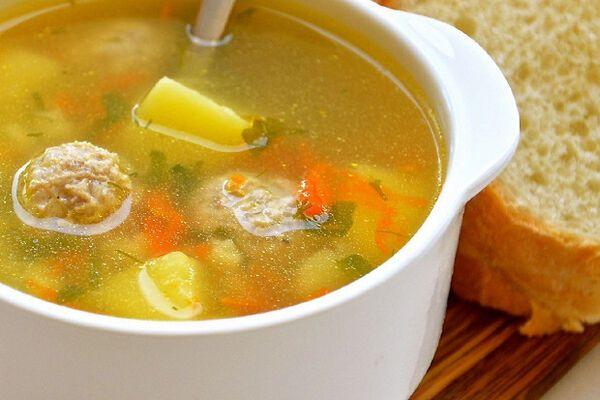 Суп з фаршем