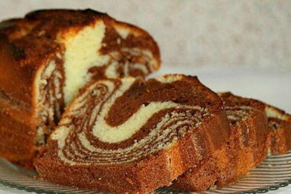 Торт ''Зебра'' на кефире