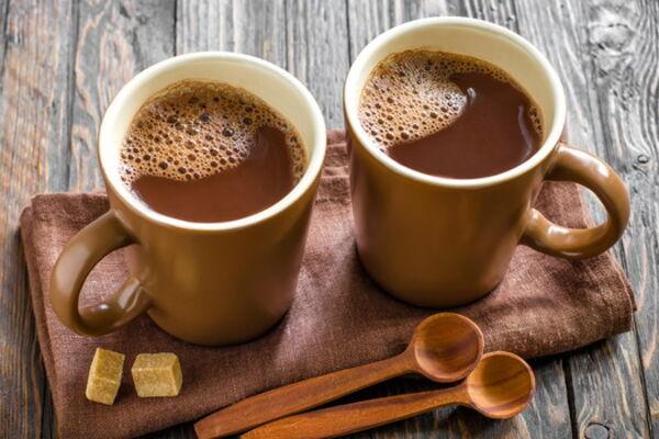 Какао на молоці