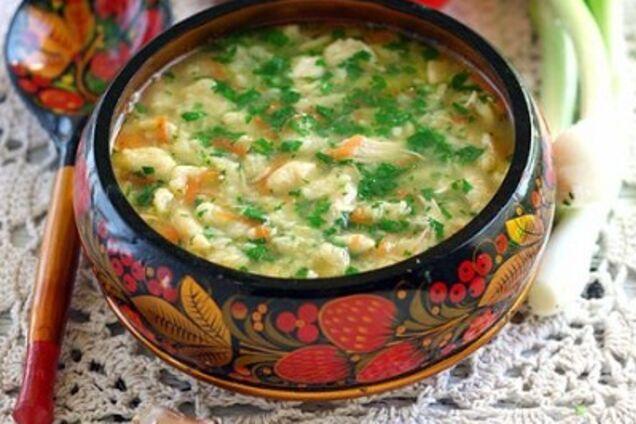 Суп ''Затируха''