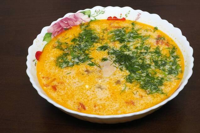 Яєчний суп