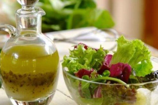 Кисло-солодкий соус для салату