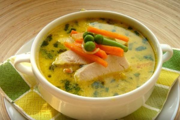 Курячий суп в мультиварці