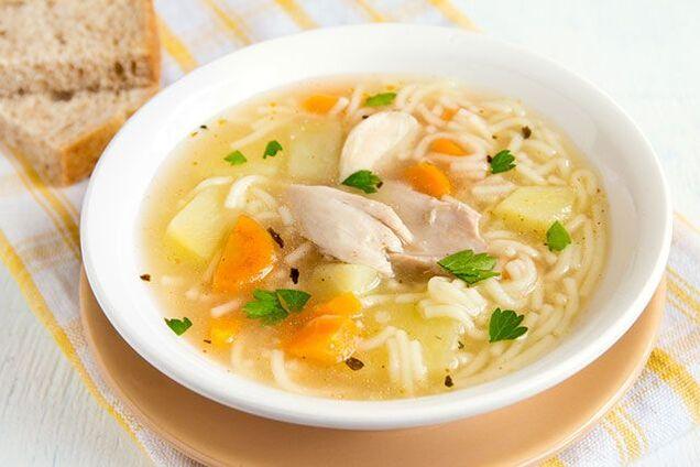 Рисовий суп в мультиварці