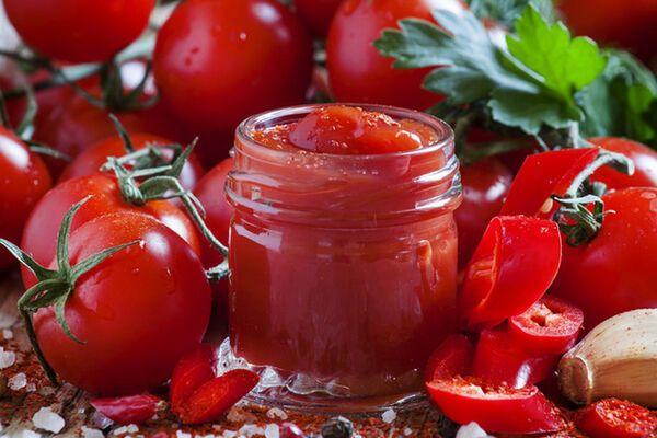 Кетчуп на зиму с крахмалом