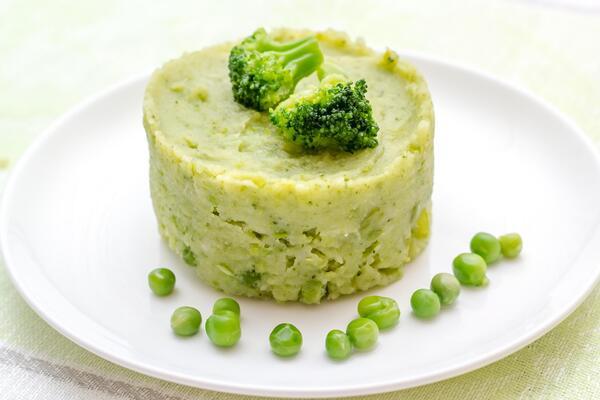 Пюре з броколі