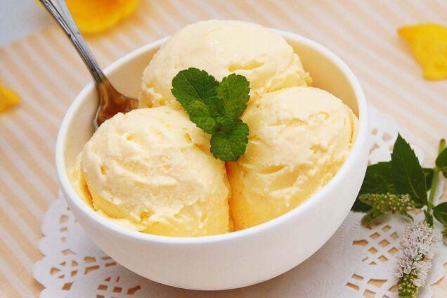 Морозиво зі згущеного молока