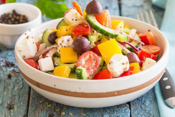 Грецький салат з фетою
