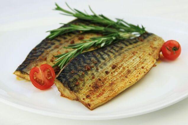 Запечена риба в мультиварці