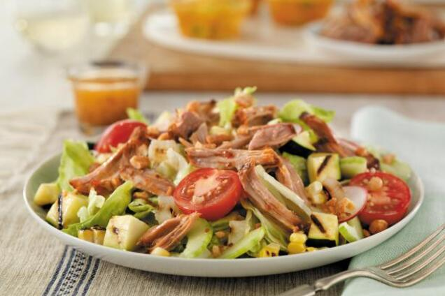 Салат зі свининою