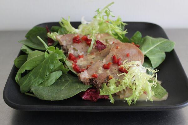 Салат з язиком