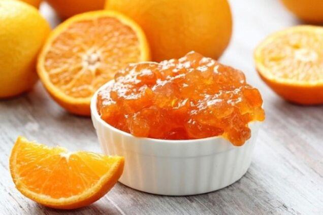 Абрикосове варення з апельсином