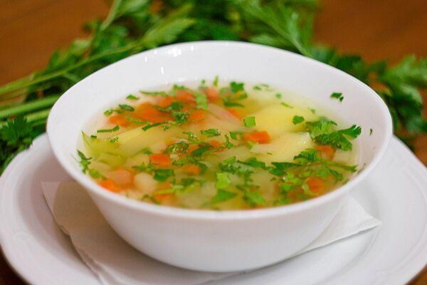 Овочевий суп в мільтиварці