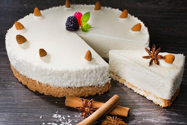Кокосовый торт ''Рафаэлло''