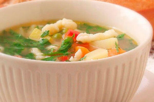 Овочевий суп без зажарки
