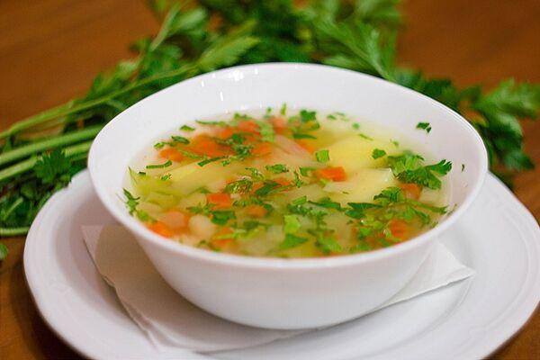 Овочевий суп з кабачками
