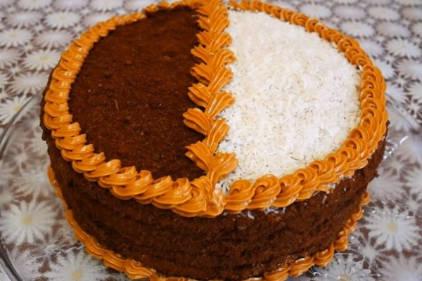 Торт ''День і ніч''