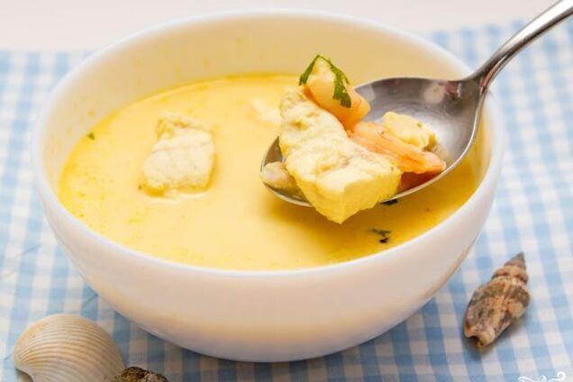 Суп із сьомги