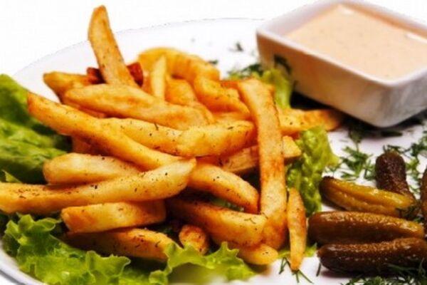 Картофель фри в духовке