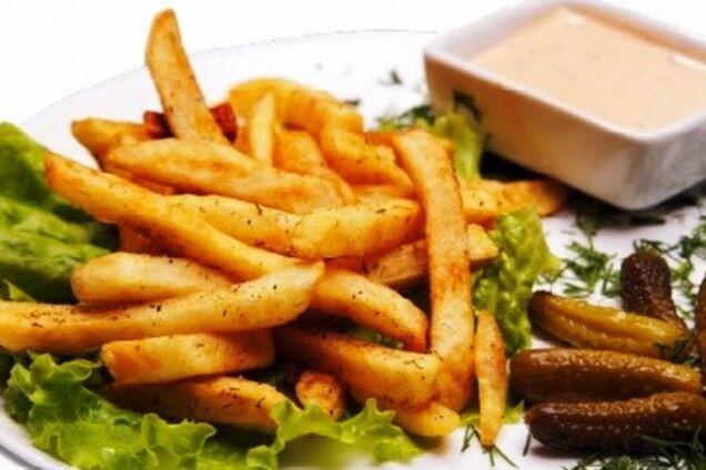 Картопля фрі в духовці