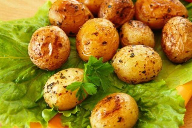 Молода картопля в духовці