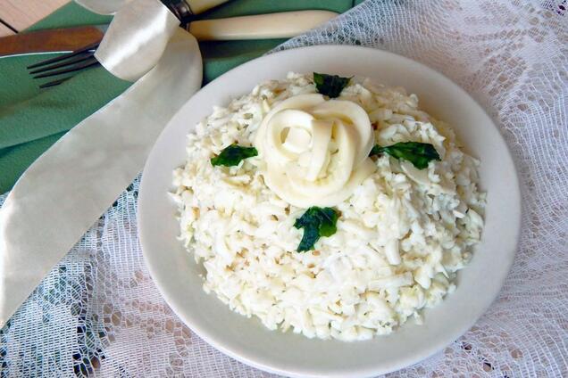 Салат ''Невеста'' с плавленым сыром