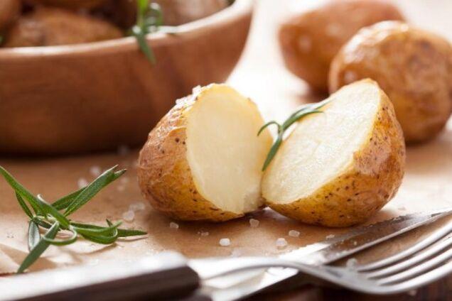 Картопля в фользі в мультиварці