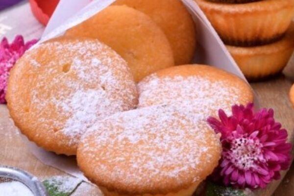 Творожные кексы с манкой