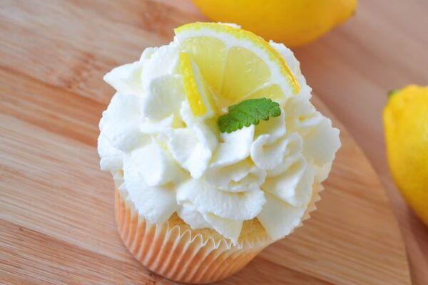 Кексы с лимоном