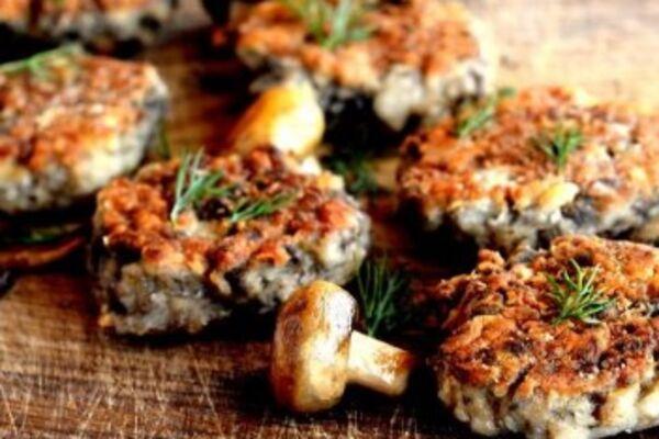 Гречаники с грибами