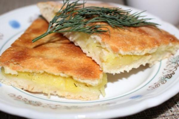 Пиріг з картоплею