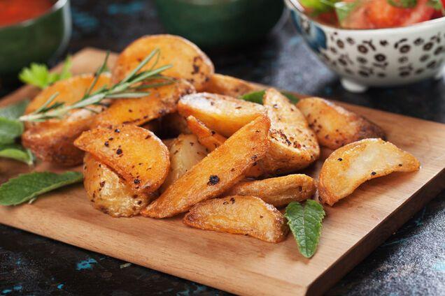 Печеная картошка в мультиварке