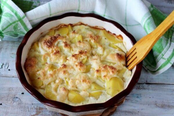 Картопля в духовці з сиром