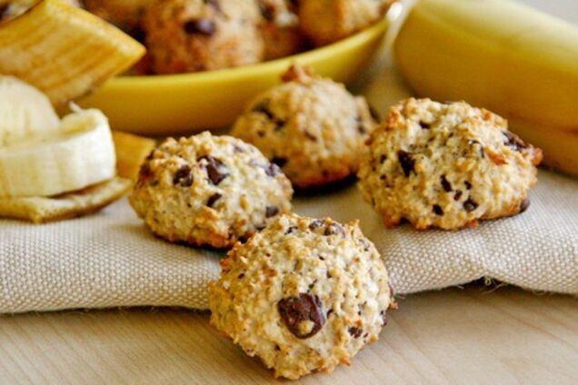Вівсяче печиво с бананом