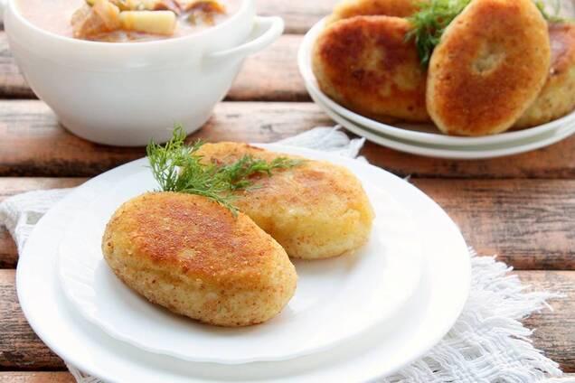 Картофельники из пюре