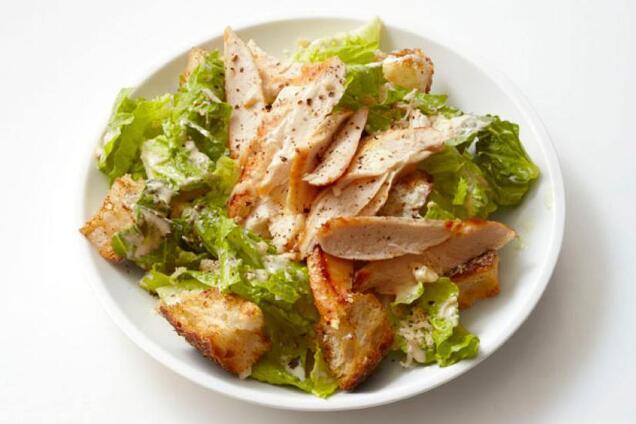 Легкий салат з куркою